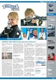 Pistole: Kraft und Spannungen - Walther