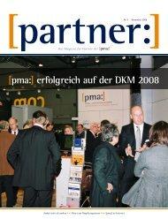 Das Magazin für Partner der [pma:]