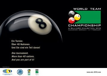 One tournament. More than 40 nations. And you are part of it!