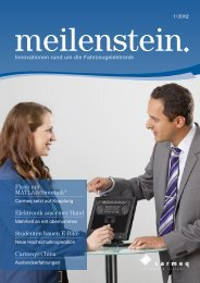 Meilenstein 1-2012 - Carmeq GmbH