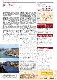 4* MS Douro Princess - World of Travel