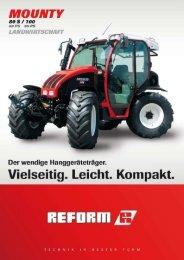Mounty 80S/100 Landwirtschaft - Landtechnik Rietzler