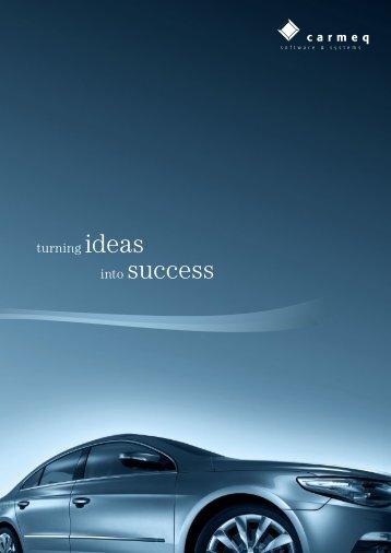 Company brochure - Carmeq GmbH