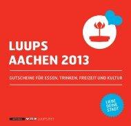 LUUPS AACHEN 2013