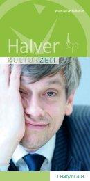 Das aktuelle Programmheft als PDF Download. - Halver KulturZeit