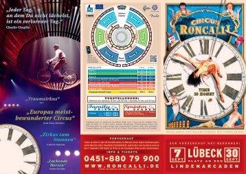 LübecK - Circus Roncalli