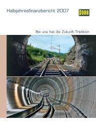 Halbjahresbericht 2007 - Porr