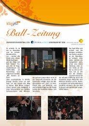 Ball -Zeitung - Klinikum Ansbach