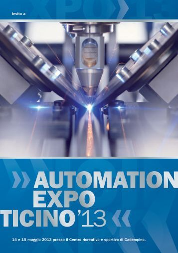 EXPO TICINO'13 AUTOMATION