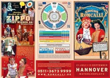 HANNOVER - Circus Roncalli
