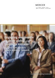 Engaging employees to drive global business success: - Marsh ...