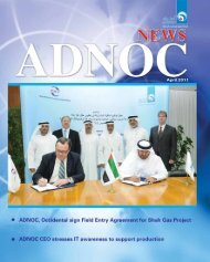 ADNOC News April 2011