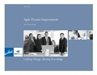 Agile Process Improvement - Software Engineering Institute ...