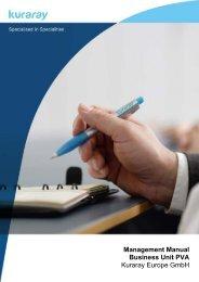 Management Manual Business Unit PVA Kuraray Europe GmbH