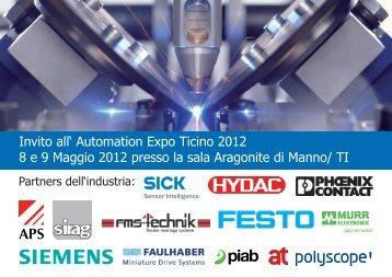 Invito all' Automation Expo Ticino 2012 8 e 9 Maggio 2012 presso la ...