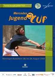 Tennis Europe Junior Tour - Mercedes Jugend Cup