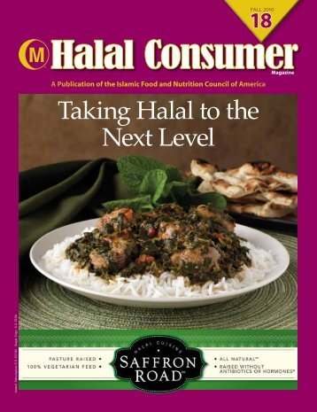 Taking Halal to the Next Level - IFANCA