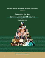 Connecting the Dots Between Learning and Resources - National ...