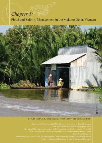 Chapter 1: Floods and Salinity Management in the - Sumernet