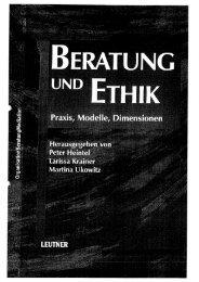 Versuch über die Ethik in der Organisationsberatung - Oeggo