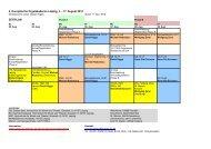 4. Europäische Orgelakademie Leipzig, 3. - 17. August 2013 ...