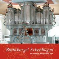 Barockorgel Eckenhagen - Evangelische Kirchengemeinde ...