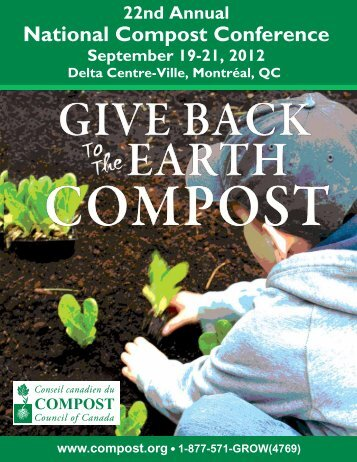 22nd Annual National Compost Conference - Compost Council of ...