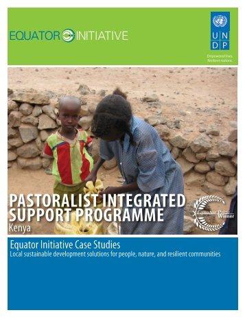 Pastoralist Integrated Support Programme (PISP) - Equator Initiative