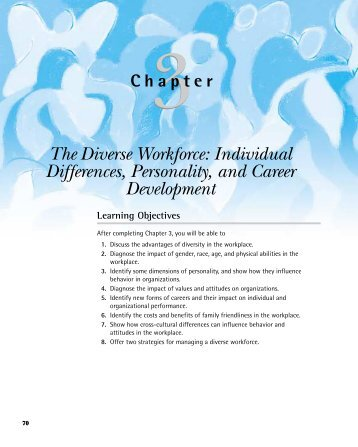 The Diverse Workforce: Individual Differences, Personality, and ...
