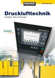 Drucklufttechnik - KAESER KOMPRESSOREN GmbH