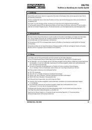 Richtlinie zur Beurteilung der visuellen Qualität von ESG