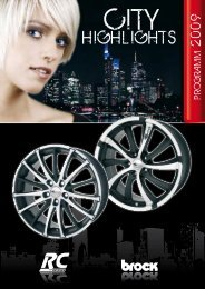 Programm 2009 - Brock Alloy Wheels