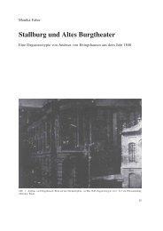 Stallburg und Altes Burgtheater - Albertina
