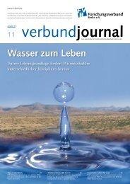 Wasser zum Leben - FMP Berlin