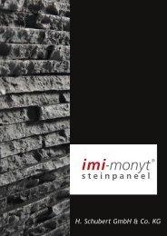 steinpaneel - imi-beton