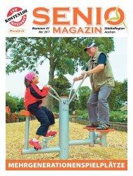 Mehrgenerationenspielplätze - Senio Magazin