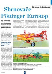 Shrnovače Pöttinger Eurotop