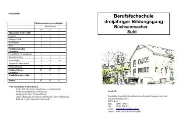 Werbung Gymnasium - Carsten Bothe