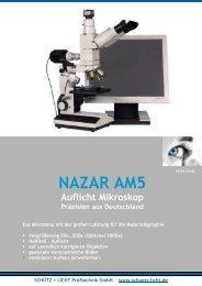 NAZAR AM5 Mikroskop als PDF öffnen - Schütz + Licht Prüftechnik ...