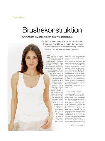 Brustrekonstruktion - Dr. med. Karl Schuhmann