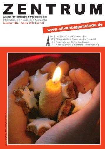 Ausgabe Nr. 121 Dezember - Februar 2013 - Silvanus