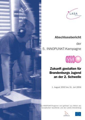 Abschlussbericht der Kampagne (PDF) - LASA Brandenburg GmbH