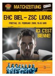 EHC Biel - Journal du Jura