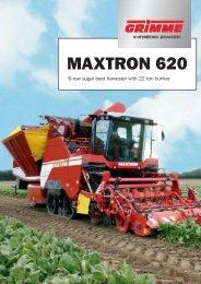 MAXTRON 620 - Grimme UK