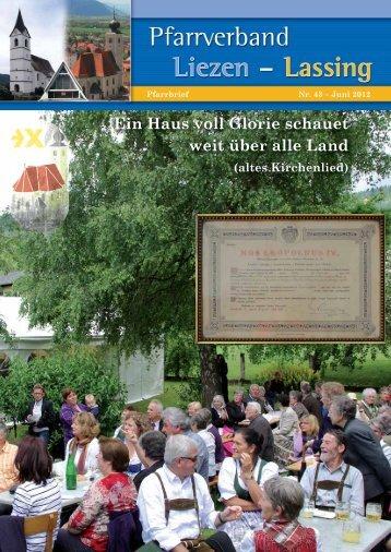 Pfarrbrief Juni 2012 - Pfarrverband Liezen