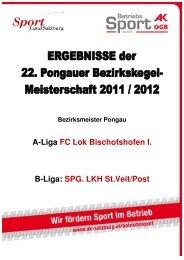 A - Liga Schwarzach - AK - Salzburg