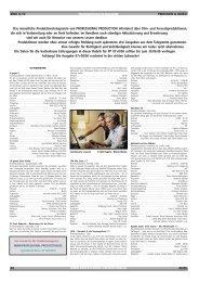 Produktionstelegramm aus PP 06/06 - Professional Production