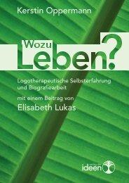 Elisabeth Lukas Kerstin Oppermann - Verlag der Ideen