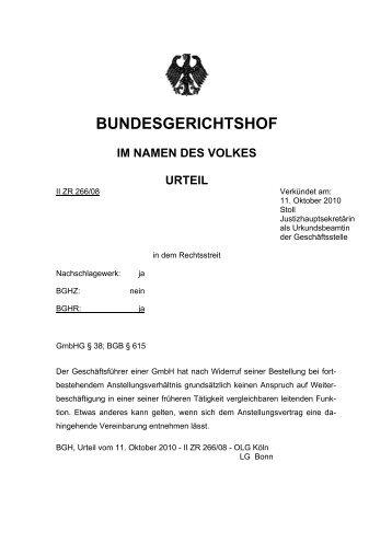 Zum Urteil (PDF) - Schneider, Geiwitz & Partner