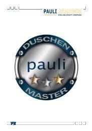 Duschenmaster Informationen - Pauli